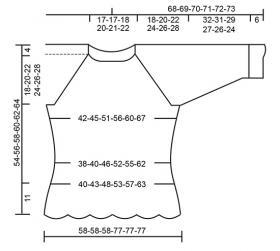 Пуловер Мисс Флора - Выкройка 1