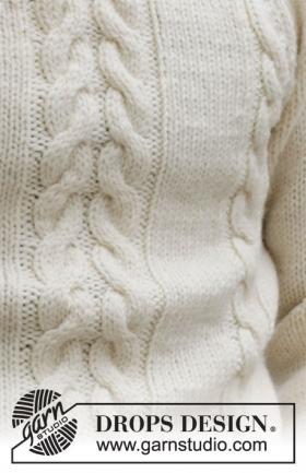 Джемпер Снежный шлейф - Фото 1