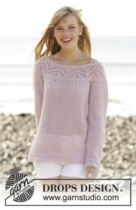 Джемпер розовое прикосновение
