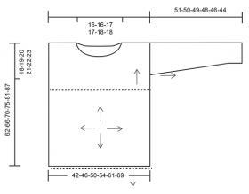 Джемпер легкий шарм - Выкройка 1