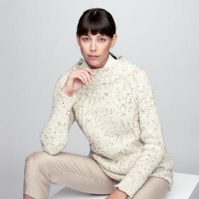 Пуловер Текстурное смещение - Фото 1