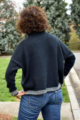 Пуловер Эбони - Фото 1