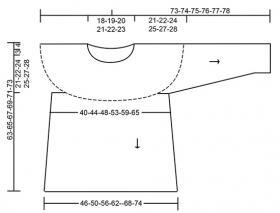 Пуловер Белфаст - Выкройка 1