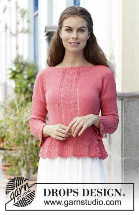 Пуловер Мисс Флора