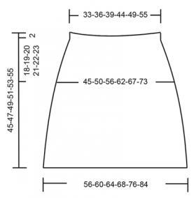 Юбка бубновая масть - Выкройка 1