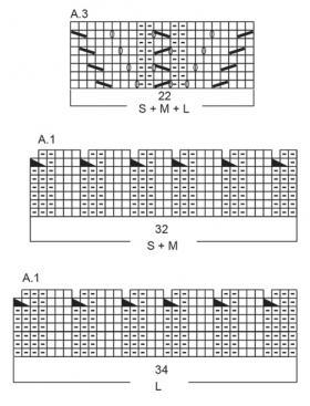 Пуловер Жемчужина - Схема 2