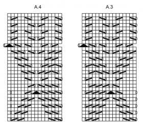 Шаль рог изобилия - Схема 3