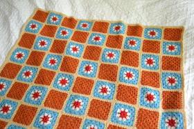 Одеяло из цветных мотивов - Фото 2