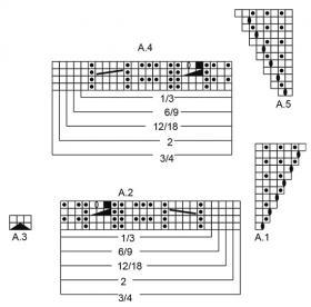 Чепчик Селестина - Схема 2