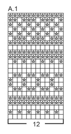 Шапка Лофотен - Схема 1