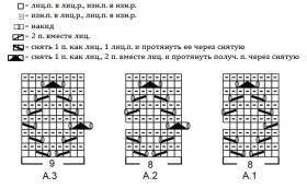 Комплект лавандовое небо - Схема 1