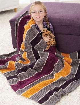 Полосатое одеяло
