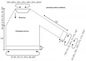 Свитер Лиман - Выкройка 1