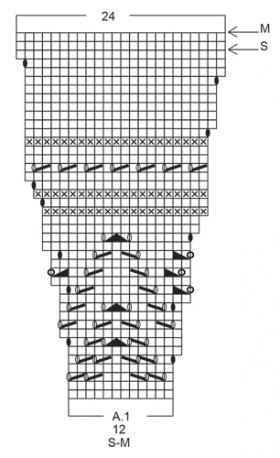 Жакет розовое прикосновение - Схема 3