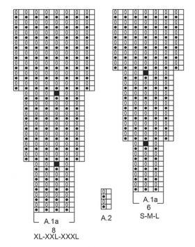 Свитер Фридид - Схема 3