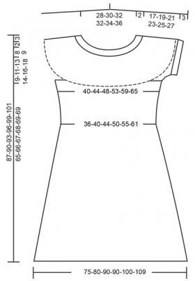 Платье Объятия солнца - Выкройка 1