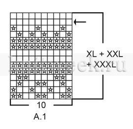 Пуловер Литорина - Схема 4