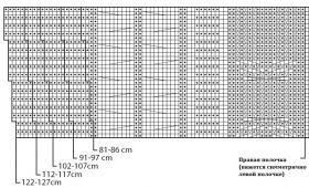 Кардиган Аврора - Схема 4