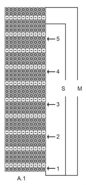 Свитер Чудная маргаритка - Схема 2
