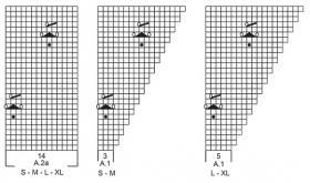 Джемпер Малиновый поцелуй - Схема 2