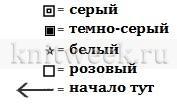 Носки Телемарк - Схема 2