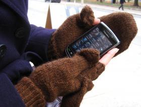 Варежки-перчатки - Фото 1