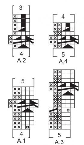 Комплект Танец снега - Схема 2