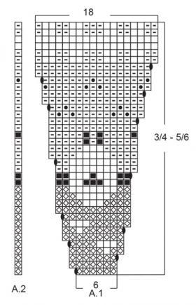 Джемпер Танец ягненка - Схема 2