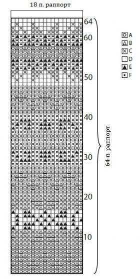 Шарф Намиб - Схема 1