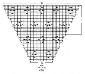 Кардиган Канари - Схема 4