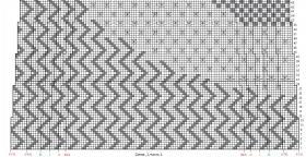 Пуловер с теневыми и ажурными узорами - Схема 2
