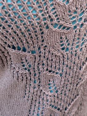 Кардиган с орнаментом на спине - Фото 2