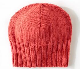 Простая шапка бини - Фото 2