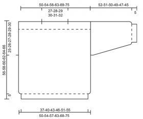 Свитер Малиновая кокетка - Выкройка 1