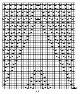 Шаль Альмерия - Схема 5