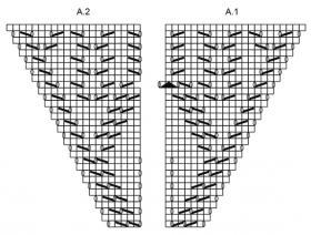 Шаль рог изобилия - Схема 2