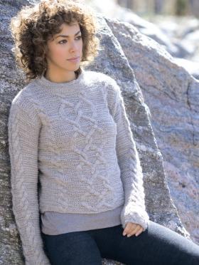 Пуловер вереск