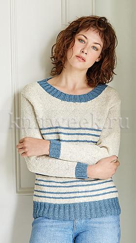 Пуловер Каплайн - Фото 1