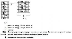 Кардиган Лобелия - Схема 1