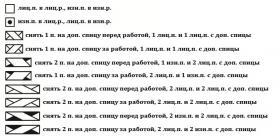 Свитер Кейси - Схема 1