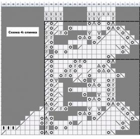 Жилет ландыш - Схема 6