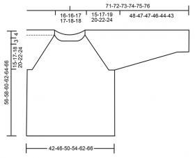 Джемпер на гребне волны - Выкройка 1