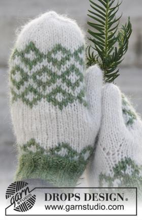 Варежки рождественское волшебство - Фото 2