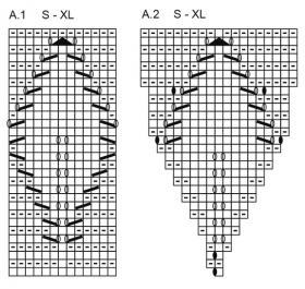 Жакет осенняя лоза - Схема 2