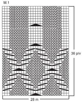 Длинный жакет на пуговицах с отложным воротником - Схема 1