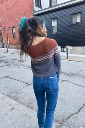 Пуловер В дороге - Фото 2