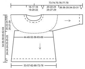 Свитер Внутренний круг - Выкройка 1