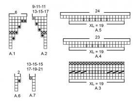 Пуловер Сеговия - Схема 4