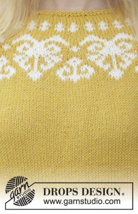 Пуловер Золотое сердце - Фото 2