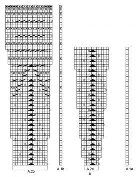 Шаль Её величество - Схема 2